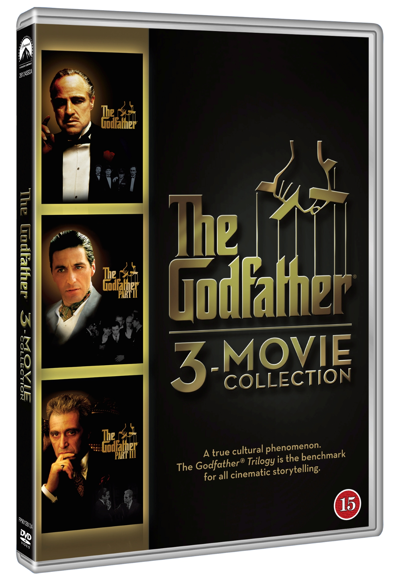 The Godfather 1-3 - Movie Collection (3 disc) - DVD