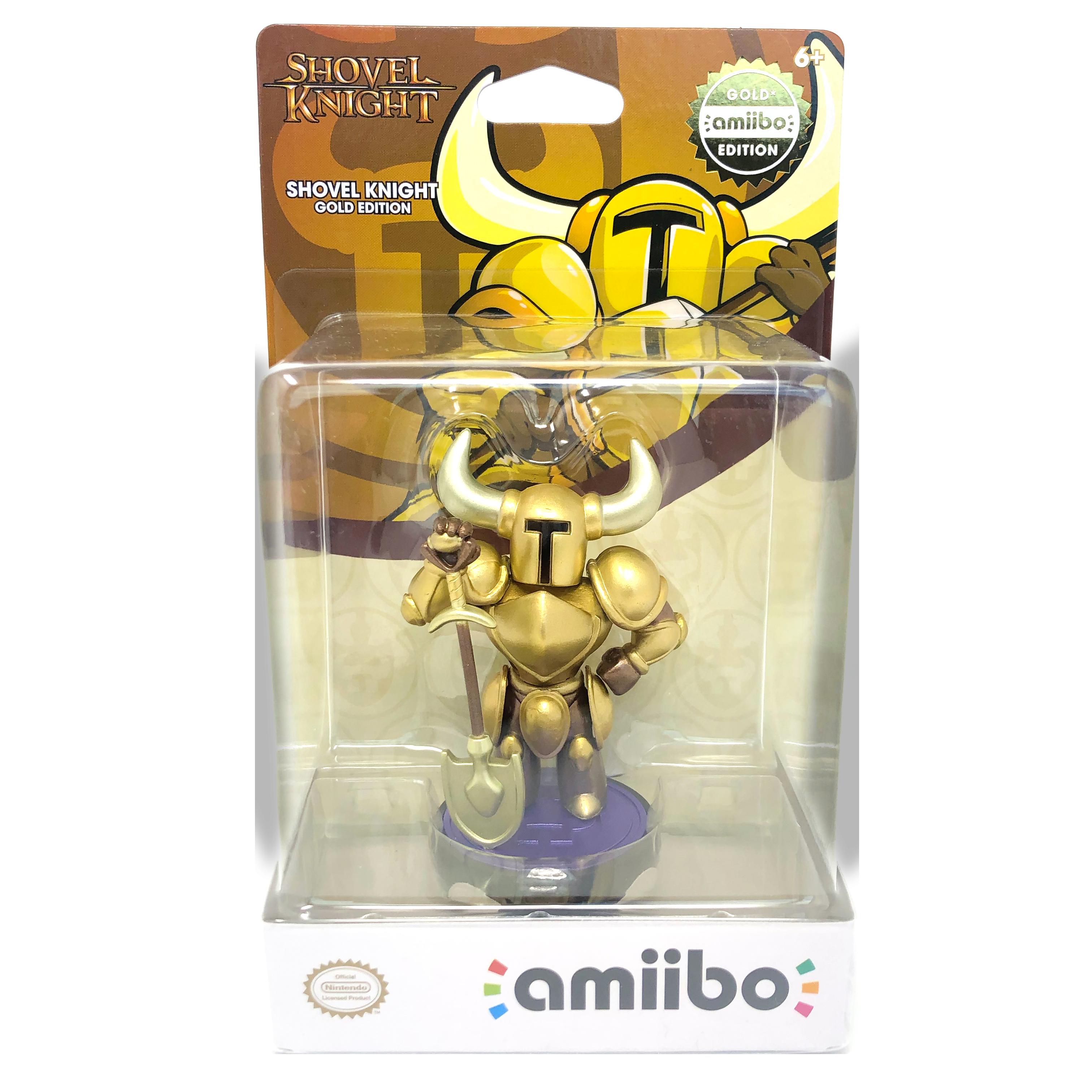 Shovel Knight Gold Amiibo