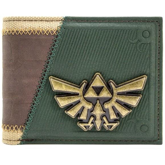 Legend of Zelda Link Twilight Princess Suit Up Brown Card & ID Bi-Fold Wallet