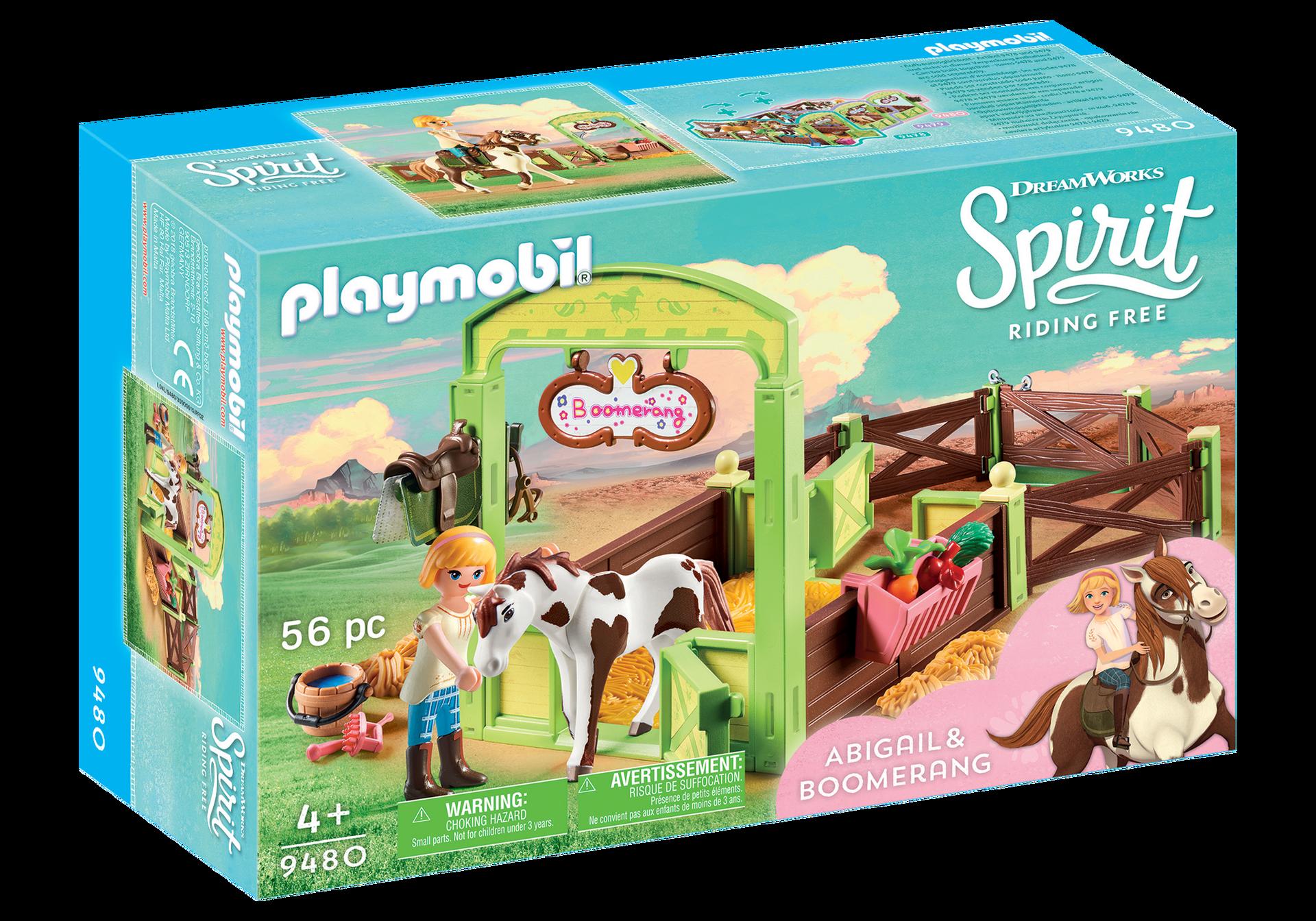 Playmobil - Horse Box - Abigail & Boomerang (9480)