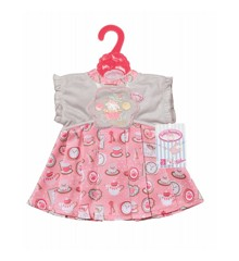Baby Annabell - Grey and Pink Day Dress (700839)