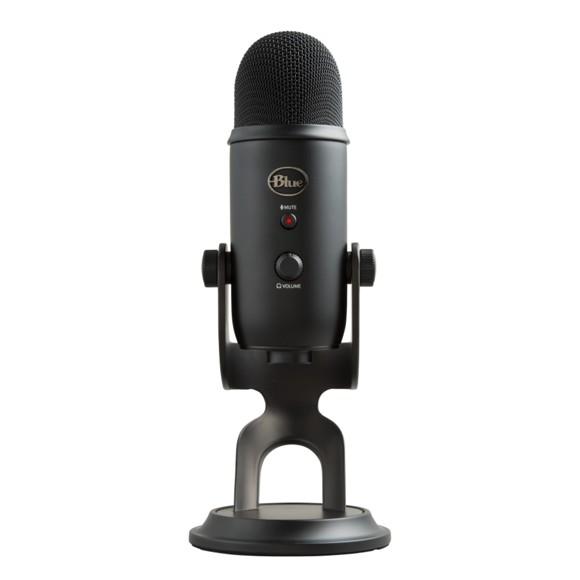 Blue - Microphone Yeti Blackout