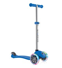 GLOBBER - Løbehjul- PRIMO m/Lys V2 - Blå