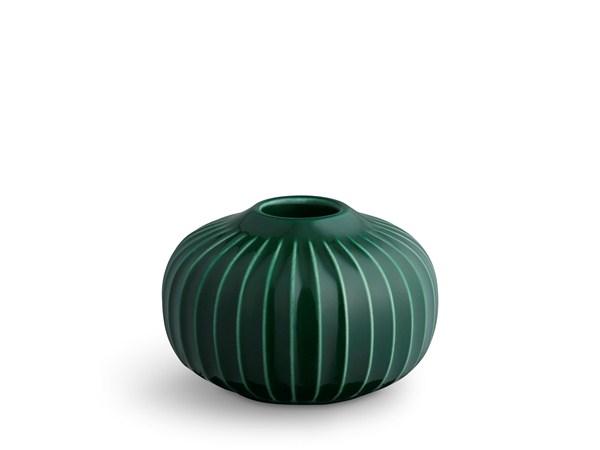 Kähler - Hammershøi Candle Holder Small - Green (692348)