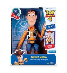 Toy Story - Deluxe Talende Woody (ENG)