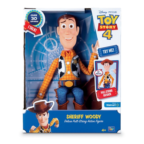 Toy Story - Deluxe Talking Woody (931-64452)