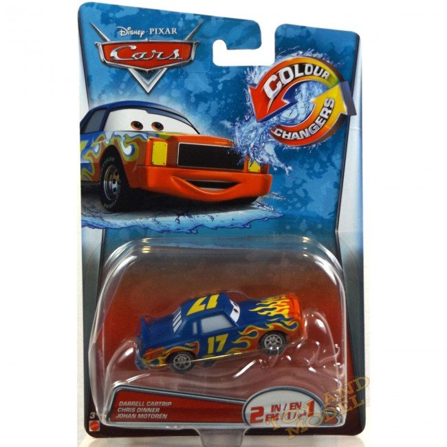 Buy Disney Cars Color Changers Darrell Cartrip (T5647)