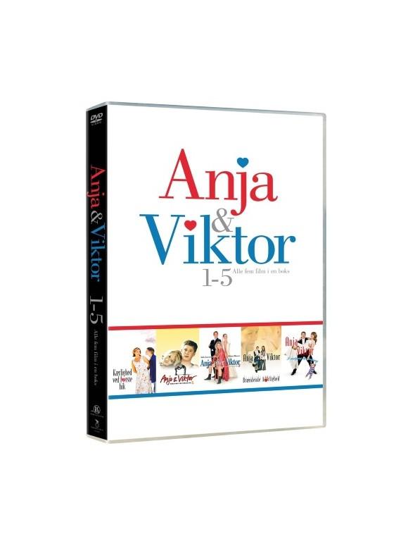 Anja & Viktor - 5DVD Bokssæt