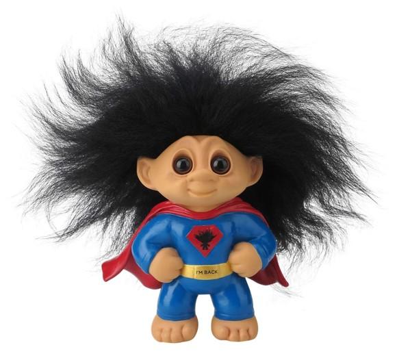 Good Luck Troll - Superhero Troll Small (93515)