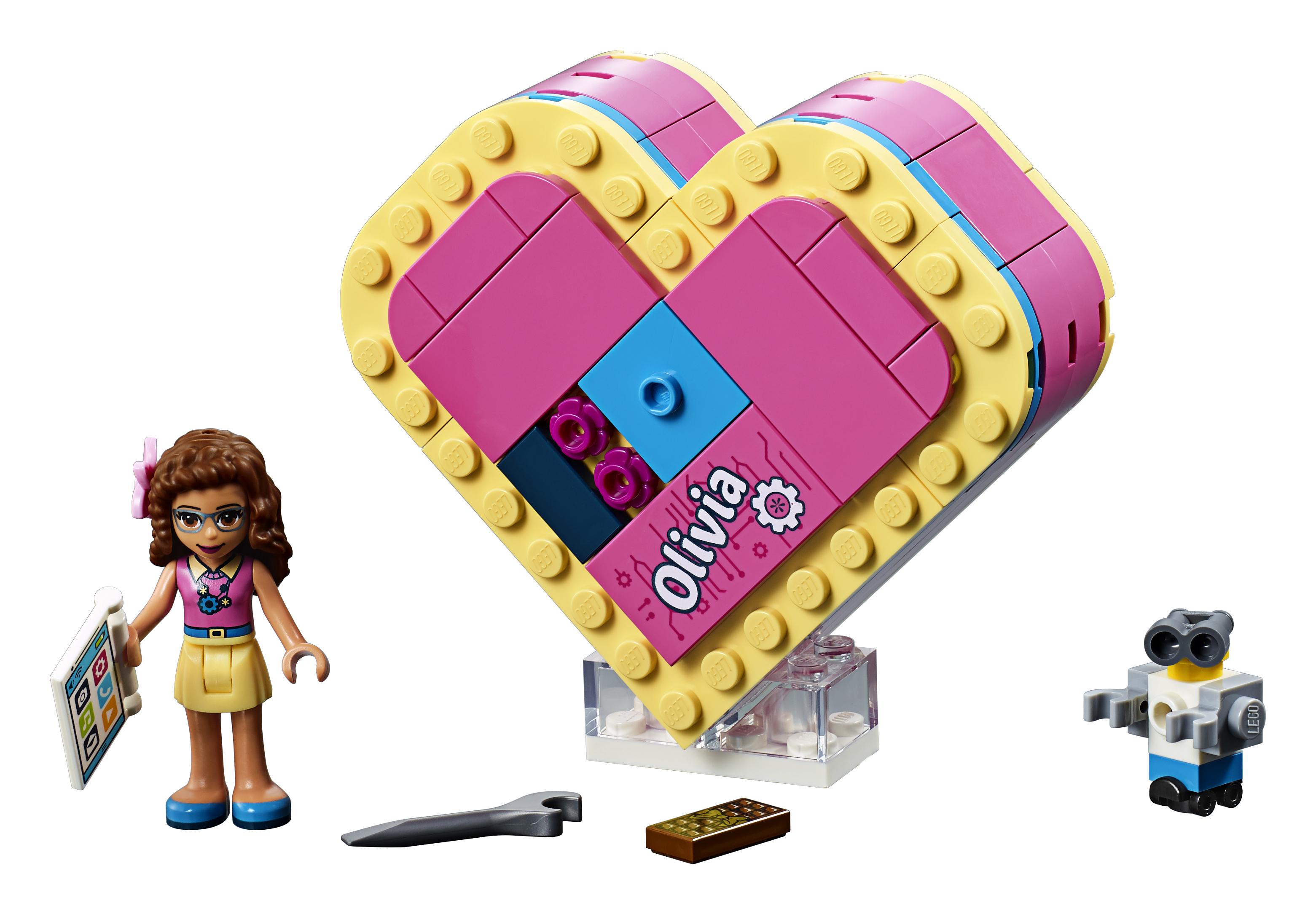 LEGO Friends - Olivia's Heart Box (41357)