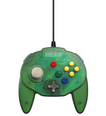 Retro-Bit Tribute 64 USB (Green)