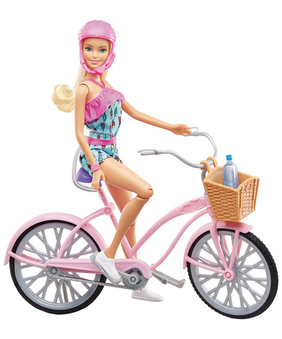 Barbie - Doll and Bike (FTV96)