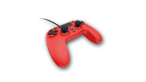 VX4 Wired Red Controller for PS4 and PC