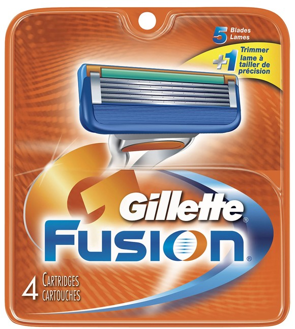 Gillette - Fusion Manual Blades 4 Pack