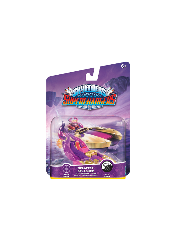 Skylanders SuperChargers - Vehicle - Splatter Splasher