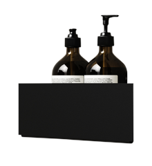 Nichba-Design - Bath Shelf Hjørne - Sort