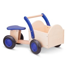 New Classic Toys - Carrier Bike - Blue (N11403)