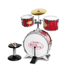 Bontempi - Metallic silver drum set (5200)