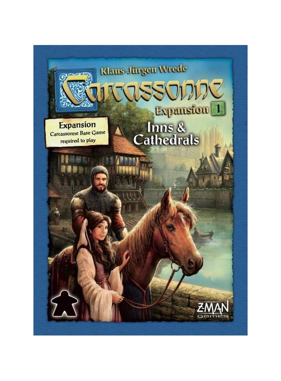 Carcassonne - Inns and Cathedrals (Nordic)