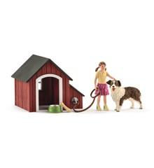 Schleich - Dog kennel (42376)