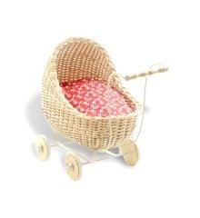 Smallstuff - Doll Stroller - Natur (51001-05)