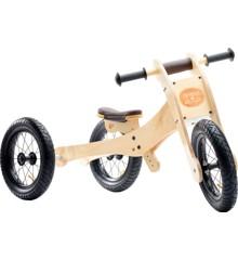 Trybike -  4-i-1 Wood trybike balancecykel