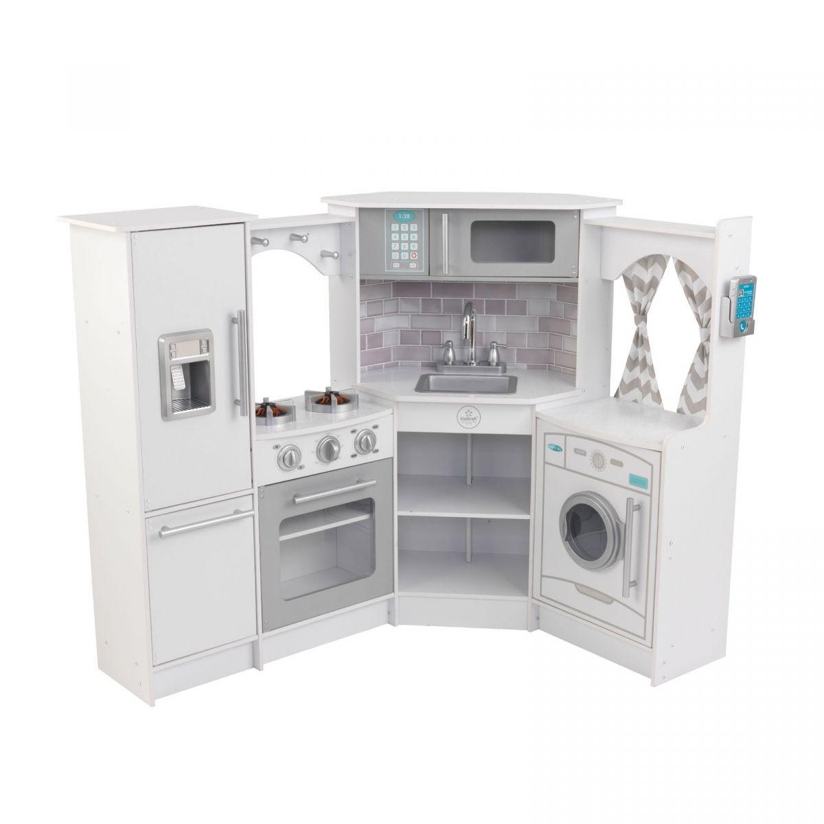 buy kidkraft - ultimate corner play kitchen set w/ lights
