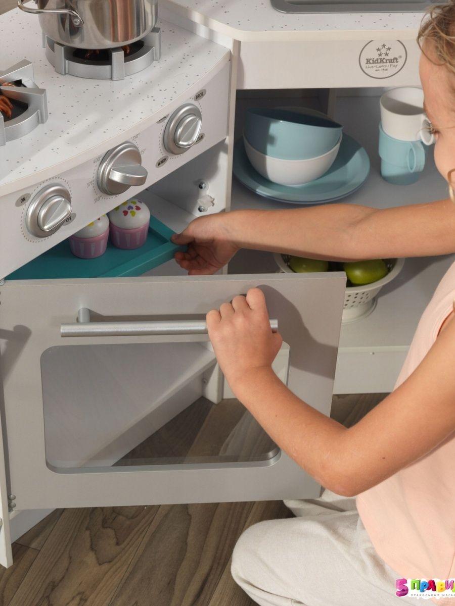 Buy Kidkraft Ultimate Corner Play Kitchen Set W Lights
