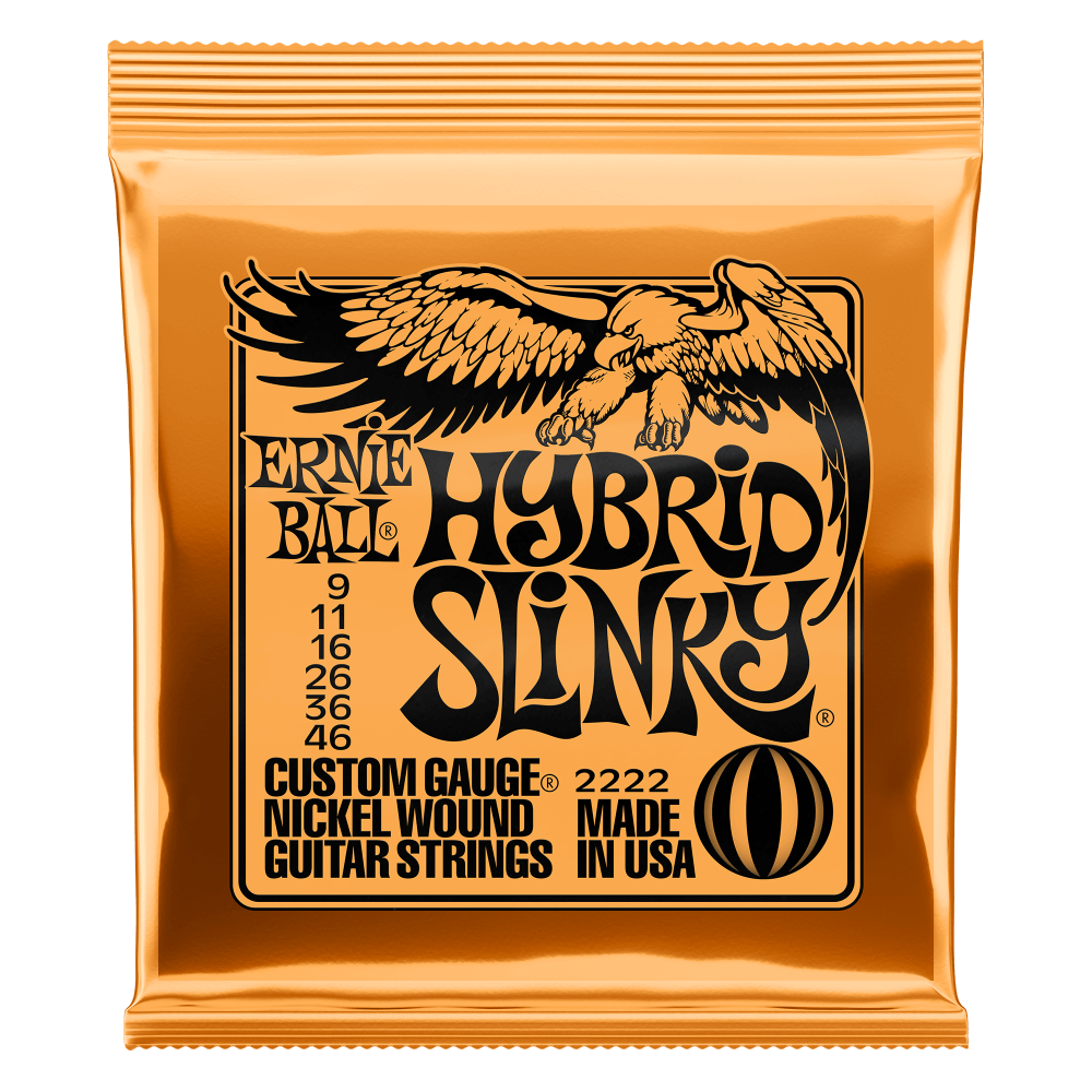 Ernie Ball - Hybrid Slinky - String Set For Electric Guitar (009-046)
