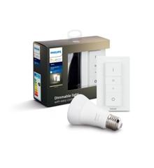 Philips Hue - E27 BT Trådløst Dæmpningssæt - White  -  Bluetooth