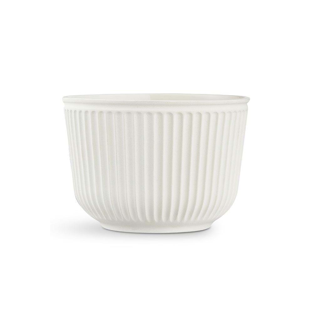 Kähler - Hammershøi Flowerpot Without Glaze Ø 26 cm - White (692588)