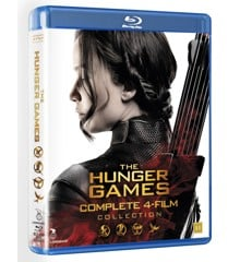 Hunger Games The Complete Collection (Blu-Ray)