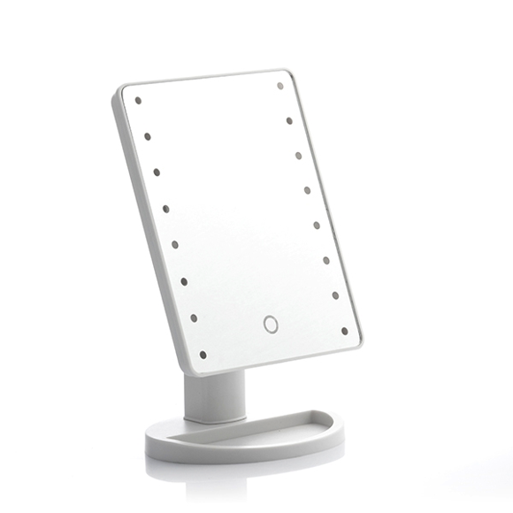 InnovaGoods bordspejl med lys