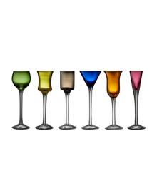 Lyngby Glas - Snapseglas Sæt á 6