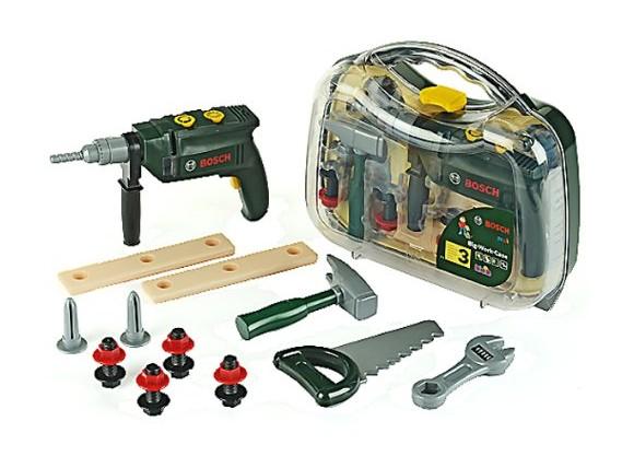 Klein - Bosch - Værktøjskasse med 12 dele (kl8416)
