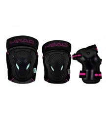 Head - Safty Set - Black/Cerise - (PO.7 CERISE M)
