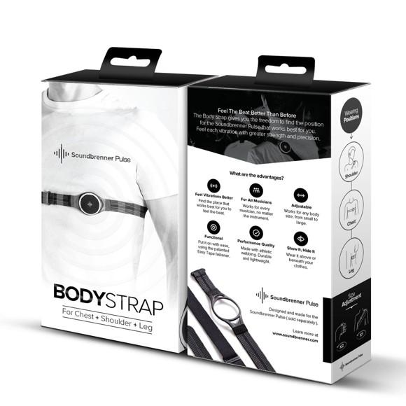 Soundbrenner - Body Strap - Rem Til Soundbrenner Pulse Metronom