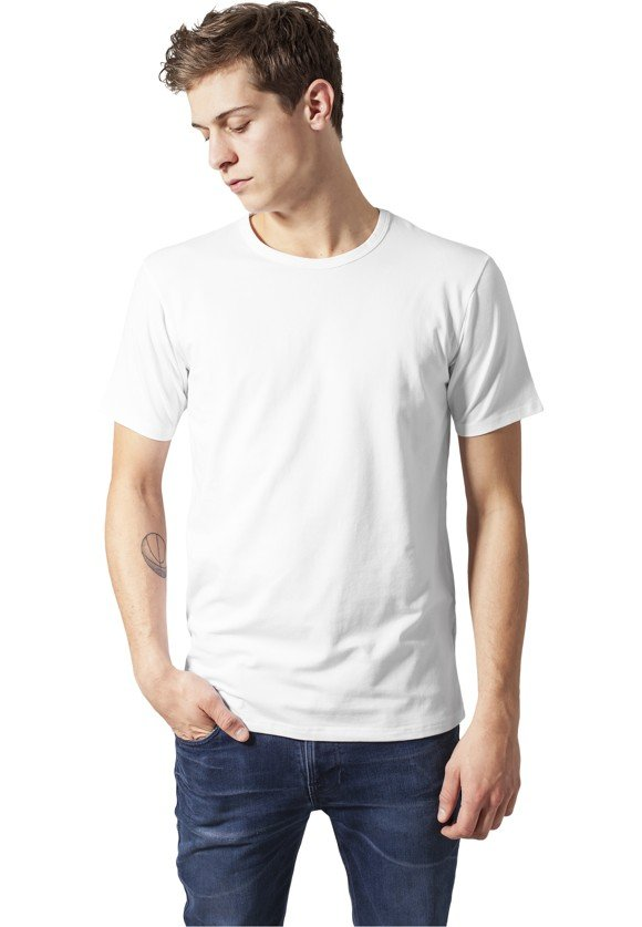 Urban Classics 'Fitted Stretch' T-shirt - White