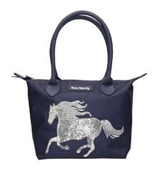 Miss Melody - Handbag w/Sequins - Blue (0010594)