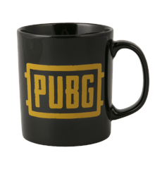 PUBG Logo Mug - Black/Orange