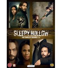 Sleepy Hollow: Sæson 1-4 - DVD
