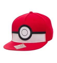 Pokémon - 3D Poké Ball Snapback One-size