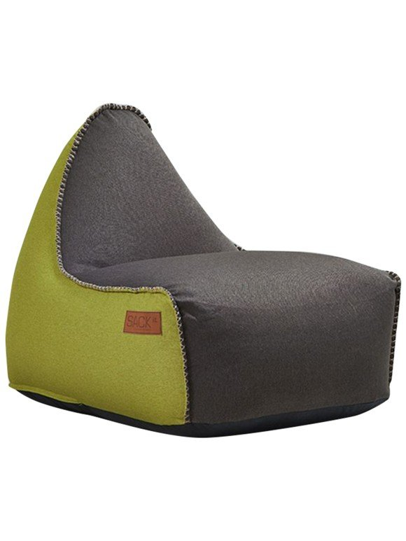 SACKit - RETROit - Canvas - Dark Brown/Lime (8571002)