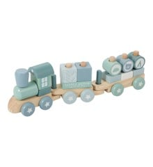 Little Dutch - Wooden train, Blue (4417)