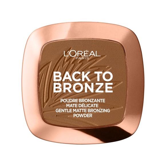 L'Oréal - Back to Bronze Matte Bronzing Powder - 01 Sunkiss