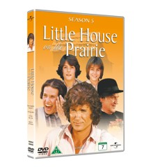 Little house on the prairie/Det Lille Hus På Prærien - season 5 - DVD