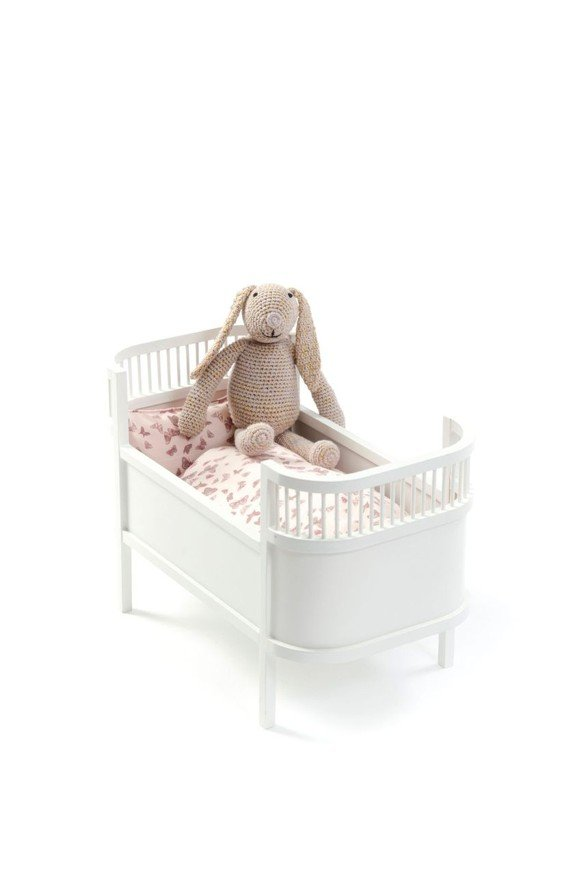 Smallstuff - Rosaline Doll Bed - White (51000-02)