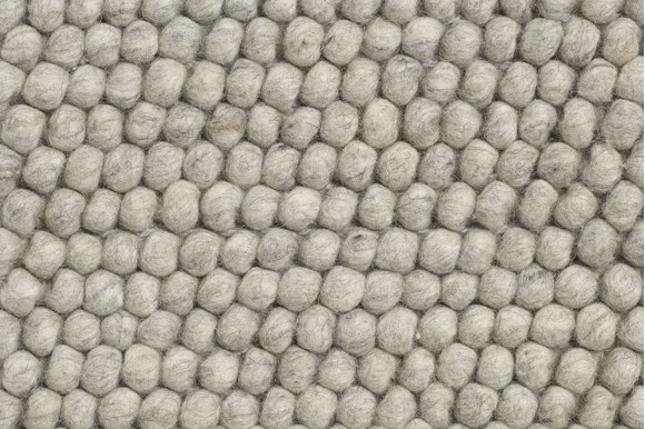 HAY - Peas Tæppe 140 x 200 cm - Soft Grå