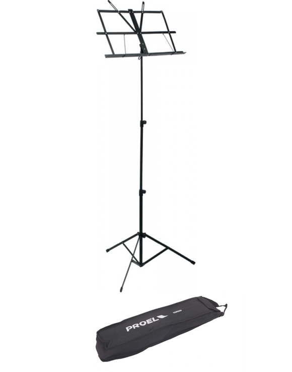 Proel - RSM300 - Orchestra Music Sheet Stand With Bag