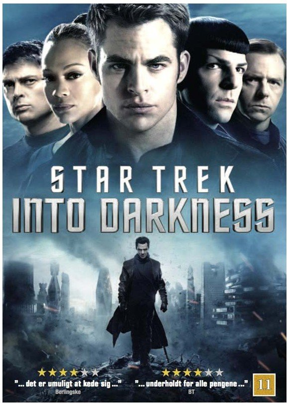 Star Trek: Into Darkness - DVD
